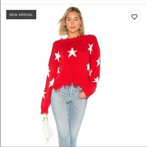 Wildfox Stars Palmetto Sweater - never been worn!